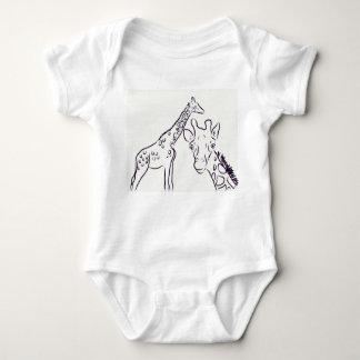 T-shirts Amor do girafa