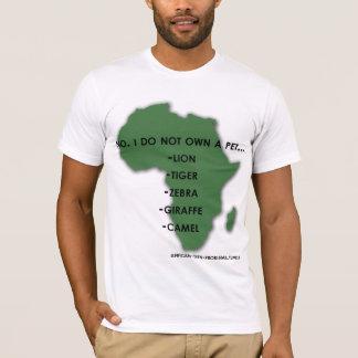 T-shirts Animais de estimação exóticos