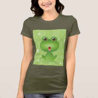 T-shirts Animal bonito anfíbio dos desenhos animados dos