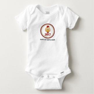 T-shirts Ano do bebê do galo