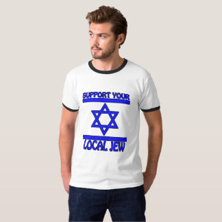 T-shirts Apoie seu judeu local