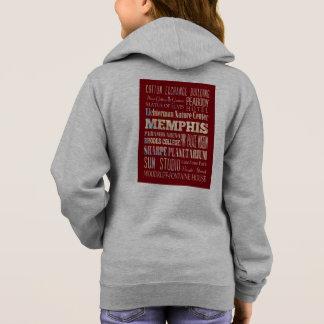 T-shirts Atrações & lugares famosos de Memphis, Tennessee.