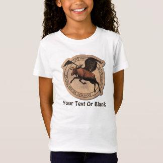 T-shirts Aviação dos alces do vôo