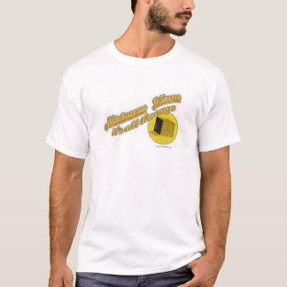 T-shirts Azuis do salário mínimo