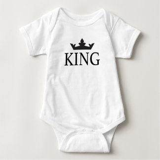 T-shirts Baby Body Royal Family King