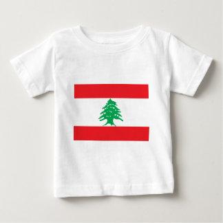T-shirts Baixo custo! Bandeira de Líbano