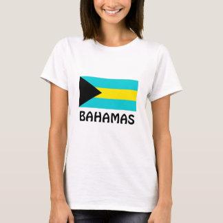 T-shirts Bandeira de Bahamas