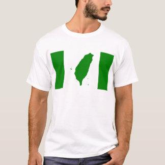 T-shirts Bandeira de Formosa independente - 臺灣獨立運動 - 台灣獨立運動