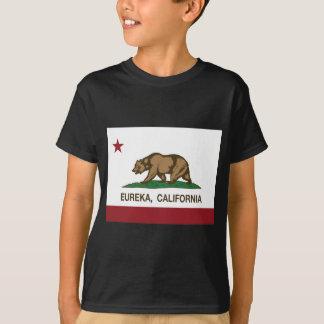 T-shirts bandeira Eureka de Califórnia