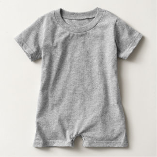 T-shirts Bebê do cão do balão ou Romper do miúdo