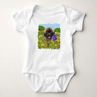 T-shirts Bebê Ludwig o Bodysuit do filhote de cachorro de