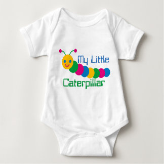 T-shirts Bebê meu Bodysuit pequeno do jérsei de Caterpillar