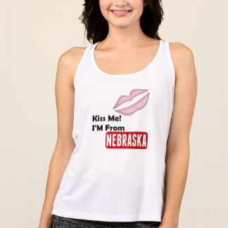 T-shirts Beije-me, mim são de Nebraska