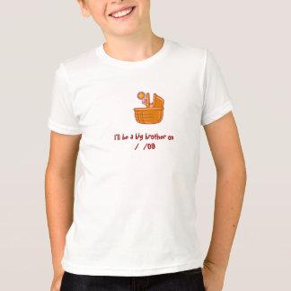 T-shirts Big brother a uma irmã mais nova