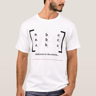 T-shirts Boa vinda à matriz