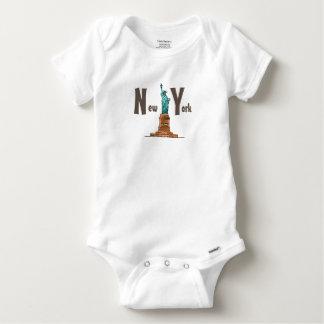 T-shirts Body Algodão Bebé EUA