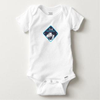 T-shirts Body Algodão Bebé Surf