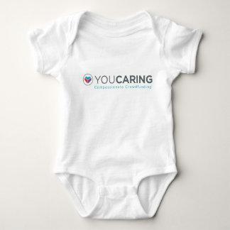 T-shirts Bodysuit da criança de YouCaring