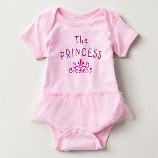 T-shirts Bodysuit da princesa