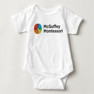 T-shirts Bodysuit do desgaste do espírito de McGuffey do