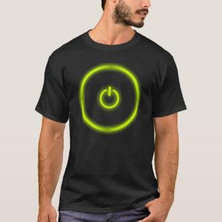 T-shirts botão das energias verdes