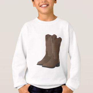T-shirts Botas de vaqueiro