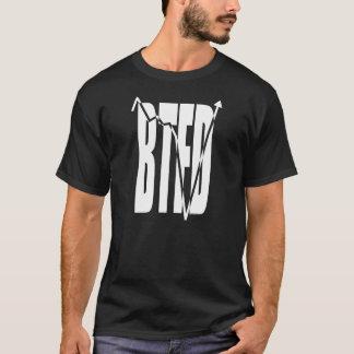 T-shirts BTFD (com o gráfico conservado em estoque da