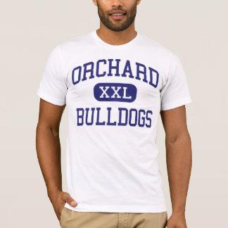 T-shirts Buldogues Wenatchee médio Washington do pomar