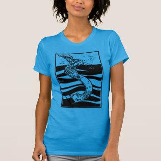 T-shirts Calamar destruído