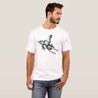 T-shirts Calamar do jato do CRT