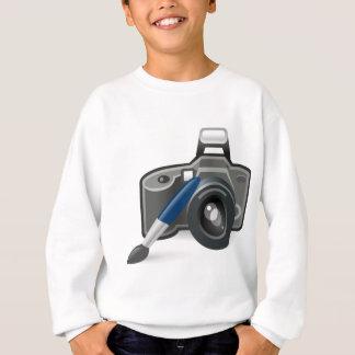 T-shirts Câmera e escova
