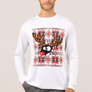 T-shirts Camisola feia do Natal que rebenta completamente