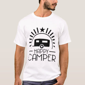 T-SHIRTS CAMPISTA FELIZ