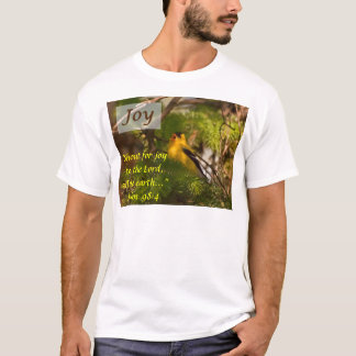 T-shirts Canto do Goldfinch - alegria