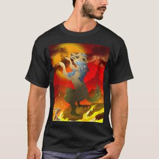 T-shirts Cão asteca do design inoperante