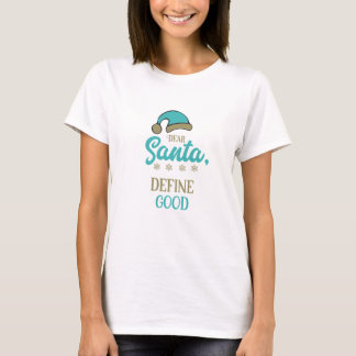 T-shirts Caro Papai noel, define bom