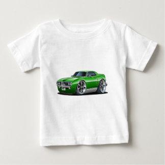 T-shirts Carro 1967 verde de Firebird