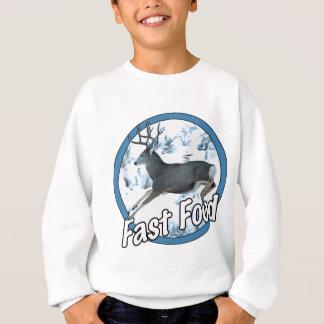 T-shirts Cervos de mula do fast food