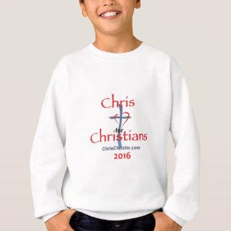 T-shirts CHRISTIE 2016 do cristo