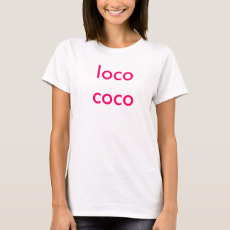 T-shirts Cocos do louco