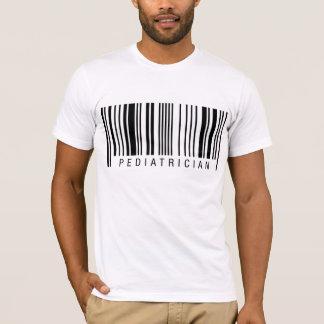 T-shirts Código de barras do pediatra