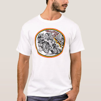 T-shirts Competência da motocicleta da velha escola