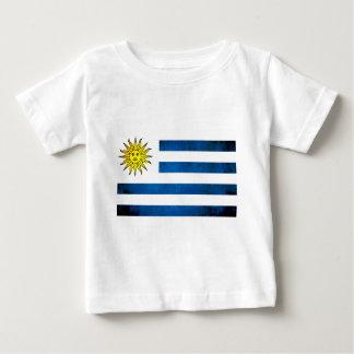 T-shirts Contraste colorido UruguayanFlag