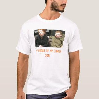 T-shirts coppermom1, eu sou orgulhoso de meu filho do