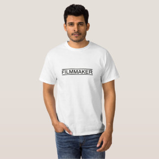 T-shirts Cor do branco da cineasta