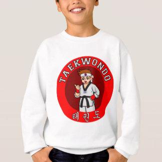 T-shirts crachá 1 da cara de taekwondo