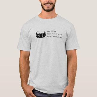 T-shirts crescimento, cilindro, crescimento