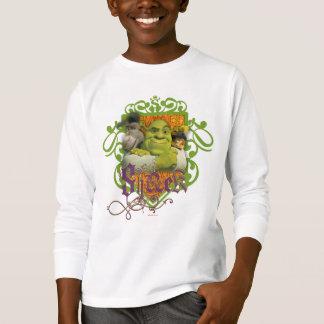T-shirts Crista do grupo de Shrek