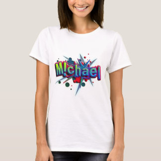 T-shirts Cume name Michael with! as j