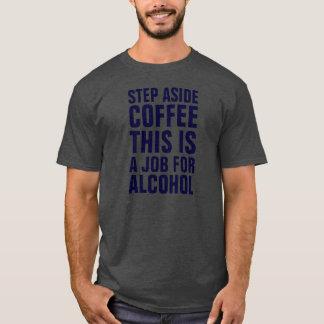 T-shirts Da etapa o café cinzento de lado isto é um